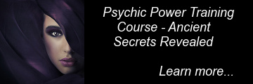 Psychic training course ad